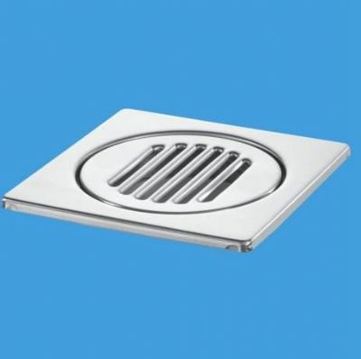 McAlpine Stainless Steel Gully Top Grid & Insert 15cm x 15cm - 40000002